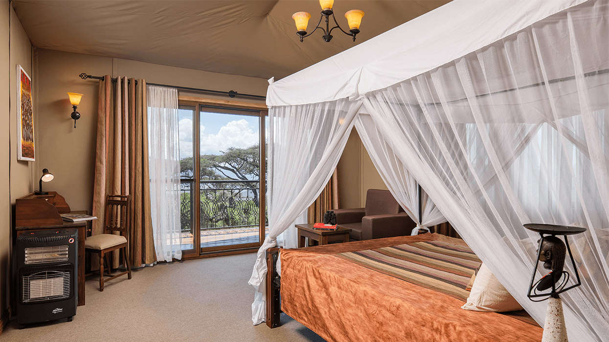 Lions Paw Luxury Camp Room Tanzania Safari
