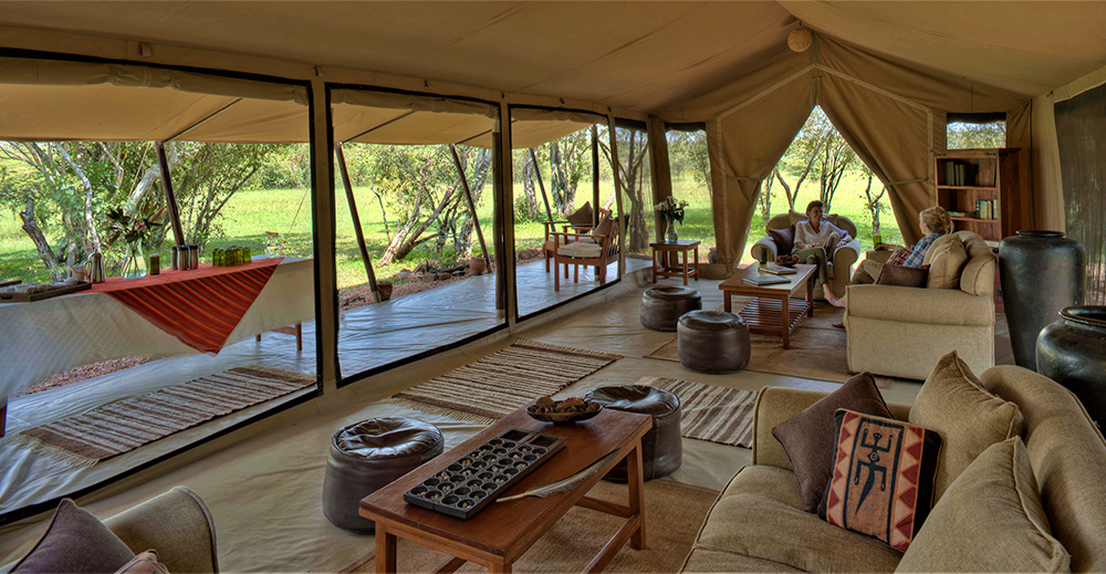 kenya tanzania wildlife safaris Encounter mara Luxury Camp
