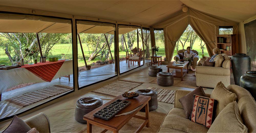 kenya tanzania wildlife safaris Encounter mara Luxury Camp