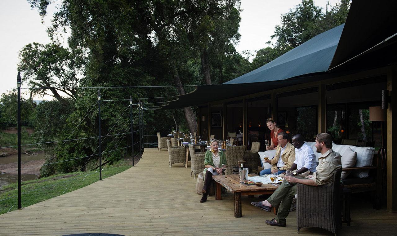 Governor's Il Moran camp Masai Mara
