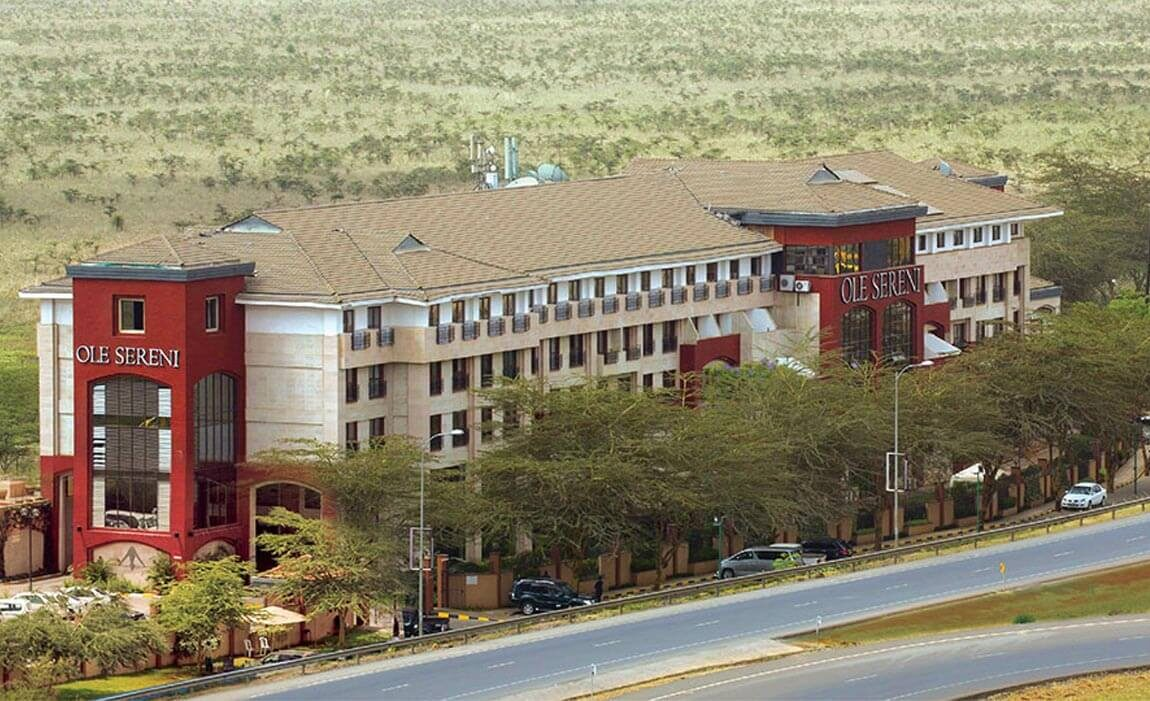 9 days Kenya safari Ole-Sereni hotel Nairobi